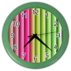 Vertical Blinds A Completely Seamless Tile Able Background Color Wall Clocks