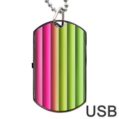 Vertical Blinds A Completely Seamless Tile Able Background Dog Tag Usb Flash (two Sides)
