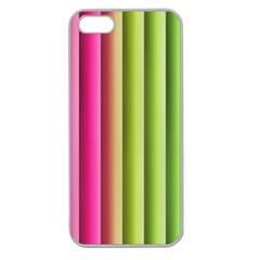 Vertical Blinds A Completely Seamless Tile Able Background Apple Seamless Iphone 5 Case (clear)