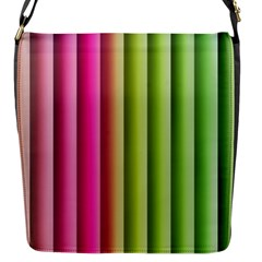 Vertical Blinds A Completely Seamless Tile Able Background Flap Messenger Bag (s)