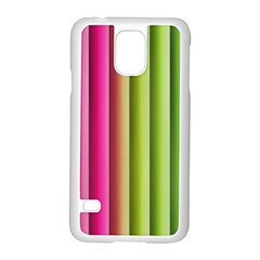 Vertical Blinds A Completely Seamless Tile Able Background Samsung Galaxy S5 Case (white)