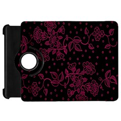 Pink Floral Pattern Background Kindle Fire Hd 7