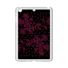 Pink Floral Pattern Background Ipad Mini 2 Enamel Coated Cases