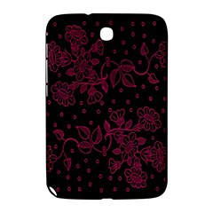 Pink Floral Pattern Background Samsung Galaxy Note 8 0 N5100 Hardshell Case