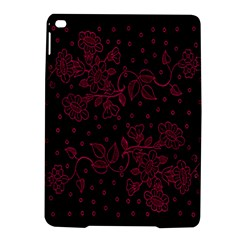 Pink Floral Pattern Background Ipad Air 2 Hardshell Cases