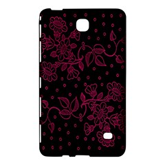 Pink Floral Pattern Background Samsung Galaxy Tab 4 (8 ) Hardshell Case