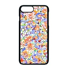 Lovely Floral 31d Apple Iphone 7 Plus Seamless Case (black)