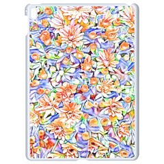 Lovely Floral 31d Apple Ipad Pro 9 7   White Seamless Case