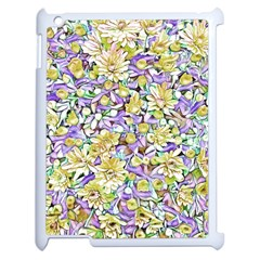 Lovely Floral 31e Apple Ipad 2 Case (white)