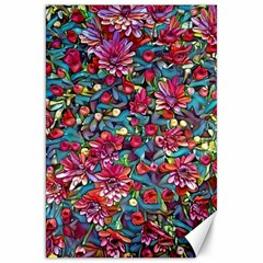 Lovely Floral 31a Canvas 20  X 30