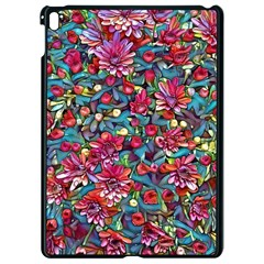 Lovely Floral 31a Apple Ipad Pro 9 7   Black Seamless Case