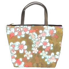 Lovely Floral 29 A Bucket Bags