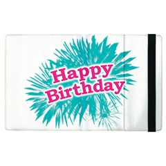 Happy Brithday Typographic Design Apple Ipad Pro 12 9   Flip Case