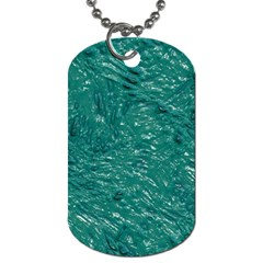 Thick Wet Paint B Dog Tag (one Side)