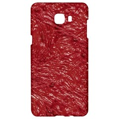 Thick Wet Paint E Samsung C9 Pro Hardshell Case