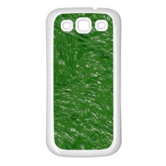 Thick Wet Paint D Samsung Galaxy S3 Back Case (white)