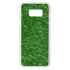 Thick Wet Paint D Samsung Galaxy S8 Plus White Seamless Case