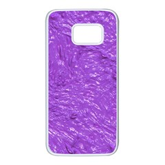 Thick Wet Paint I Samsung Galaxy S7 White Seamless Case
