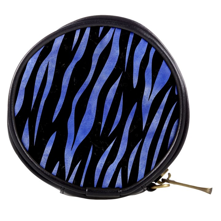 SKIN3 BLACK MARBLE & BLUE WATERCOLOR Mini Makeup Bag
