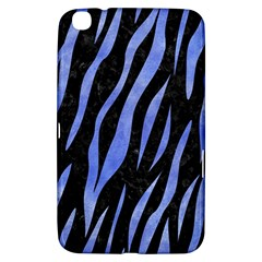 Skin3 Black Marble & Blue Watercolor Samsung Galaxy Tab 3 (8 ) T3100 Hardshell Case