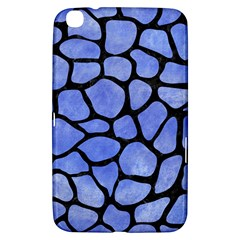 Skin1 Black Marble & Blue Watercolor Samsung Galaxy Tab 3 (8 ) T3100 Hardshell Case