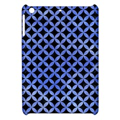 Circles3 Black Marble & Blue Watercolor Apple Ipad Mini Hardshell Case