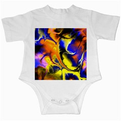 Fractal Art Pattern Cool Infant Creepers