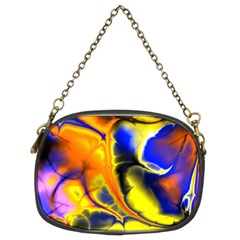 Fractal Art Pattern Cool Chain Purses (two Sides)