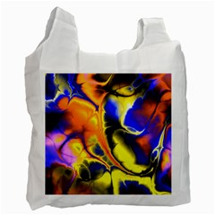 Fractal Art Pattern Cool Recycle Bag (two Side)
