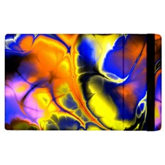 Fractal Art Pattern Cool Apple Ipad 2 Flip Case