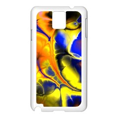 Fractal Art Pattern Cool Samsung Galaxy Note 3 N9005 Case (white)