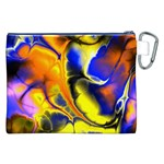 Fractal Art Pattern Cool Canvas Cosmetic Bag (XXL) Back