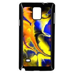 Fractal Art Pattern Cool Samsung Galaxy Note 4 Case (black)