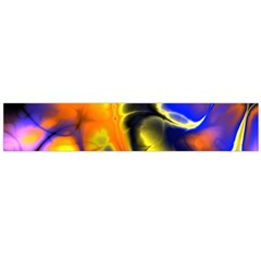 Fractal Art Pattern Cool Flano Scarf (large)