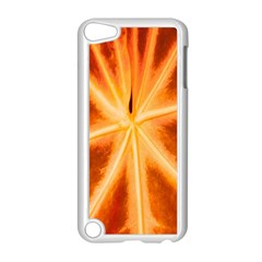 Red Leaf Macro Detail Apple Ipod Touch 5 Case (white)