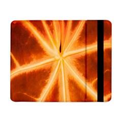 Red Leaf Macro Detail Samsung Galaxy Tab Pro 8 4  Flip Case