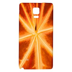 Red Leaf Macro Detail Galaxy Note 4 Back Case
