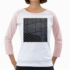 Abstract Architecture Pattern Girly Raglans