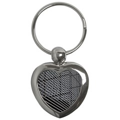 Abstract Architecture Pattern Key Chains (heart)