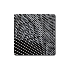 Abstract Architecture Pattern Square Magnet