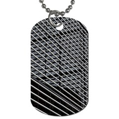 Abstract Architecture Pattern Dog Tag (two Sides)