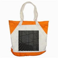 Abstract Architecture Pattern Accent Tote Bag