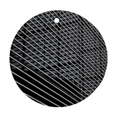 Abstract Architecture Pattern Round Ornament (two Sides)