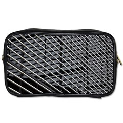 Abstract Architecture Pattern Toiletries Bags