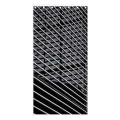 Abstract Architecture Pattern Shower Curtain 36  X 72  (stall)