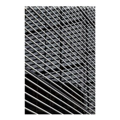 Abstract Architecture Pattern Shower Curtain 48  X 72  (small)