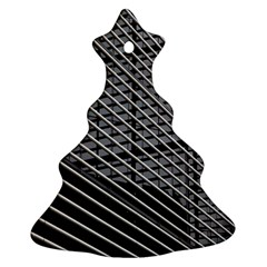 Abstract Architecture Pattern Christmas Tree Ornament (two Sides)