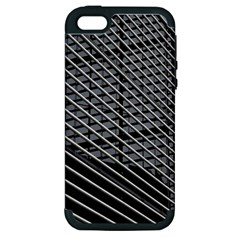Abstract Architecture Pattern Apple Iphone 5 Hardshell Case (pc+silicone)