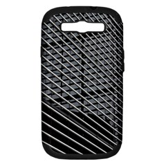 Abstract Architecture Pattern Samsung Galaxy S Iii Hardshell Case (pc+silicone)