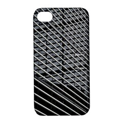 Abstract Architecture Pattern Apple Iphone 4/4s Hardshell Case With Stand
